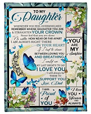 """YOU ARE MY SUNSHINE - BEST GIFT FOR DAUGHTER Small Fleece Blanket - 30"""" x 40"""" front"""