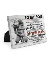 YOU HAVE BECOME - SPECIAL GIFT FOR SON 10x8 Easel-Back Gallery Wrapped Canvas thumbnail