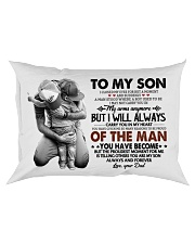 YOU HAVE BECOME - SPECIAL GIFT FOR SON Rectangular Pillowcase thumbnail