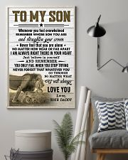 WHENEVER YOU FEEL OVERWHELMED 11x17 Poster lifestyle-poster-1