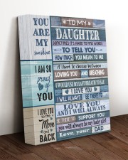 HOW MUCH YOU MEAN TO ME - LOVELY GIFT FOR DAUGHTER 11x14 Gallery Wrapped Canvas Prints aos-canvas-pgw-11x14-lifestyle-front-17