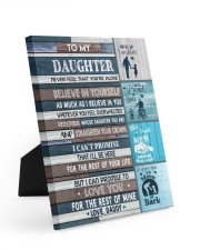 BELIEVE IN YOURSELF - LOVELY GIFT FOR DAUGHTER 8x10 Easel-Back Gallery Wrapped Canvas thumbnail