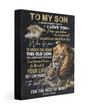 I BELIEVE IN YOU - GREAT GIFT FOR SON FROM MOJO 11x14 Gallery Wrapped Canvas Prints front