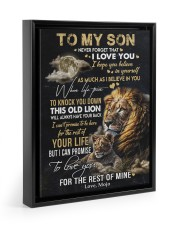 I BELIEVE IN YOU - GREAT GIFT FOR SON FROM MOJO 11x14 Black Floating Framed Canvas Prints thumbnail