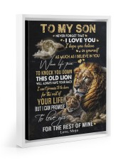 I BELIEVE IN YOU - GREAT GIFT FOR SON FROM MOJO 11x14 White Floating Framed Canvas Prints thumbnail