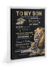 YOU ARE MY SUNSHINE - GREAT GIFT FOR SON FROM DAD 11x14 White Floating Framed Canvas Prints thumbnail