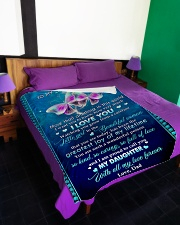 """I WANT YOU TO KNOW HOW VERY MUCH I LOVE YOU Large Fleece Blanket - 60"""" x 80"""" aos-coral-fleece-blanket-60x80-lifestyle-front-01"""
