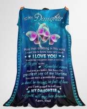 """I WANT YOU TO KNOW HOW VERY MUCH I LOVE YOU Large Fleece Blanket - 60"""" x 80"""" aos-coral-fleece-blanket-60x80-lifestyle-front-10"""