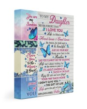 NEVER FORGET THAT I LOVE YOU 11x14 Gallery Wrapped Canvas Prints front