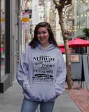 HE HAS A BACKBONE MADE OF STEEL Hooded Sweatshirt lifestyle-unisex-hoodie-front-2
