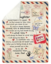 """YOU ARE MY SUNSHINE - LOVELY GIFT FOR DAUGHTER Large Sherpa Fleece Blanket - 60"""" x 80"""" thumbnail"""