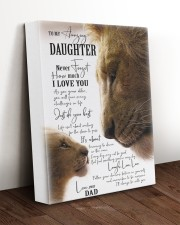 I LOVE YOU - BEST GIFT FOR DAUGHTER 11x14 Gallery Wrapped Canvas Prints aos-canvas-pgw-11x14-lifestyle-front-17