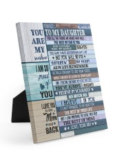 YOU ARE MY SUNSHINE Easel-Back Gallery Wrapped Canvas tile