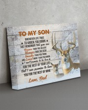 THE REST OF YOUR LIFE - BEST GIFT FOR SON 14x11 Gallery Wrapped Canvas Prints aos-canvas-pgw-14x11-lifestyle-front-15