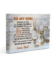 THE REST OF YOUR LIFE - BEST GIFT FOR SON 14x11 Gallery Wrapped Canvas Prints front