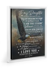I LOVE FOREVER AND ALWAYS 11x14 White Floating Framed Canvas Prints thumbnail