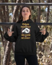 THE LEGEND - BEST GIFT FOR DAUGHTER Hooded Sweatshirt apparel-hooded-sweatshirt-lifestyle-05