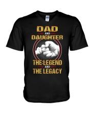 THE LEGEND - BEST GIFT FOR DAUGHTER V-Neck T-Shirt tile