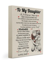 I WILL LOVE YOU FOREVER - GREAT GIFT FOR DAUGHTER 11x14 Gallery Wrapped Canvas Prints front