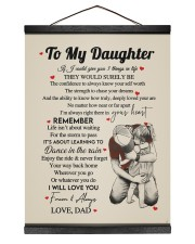 I WILL LOVE YOU FOREVER - GREAT GIFT FOR DAUGHTER Hanging Canvas tile
