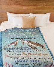 "I PRAY YOU'LL ALWAYS BE SAFE Large Fleece Blanket - 60"" x 80"" aos-coral-fleece-blanket-60x80-lifestyle-front-02"