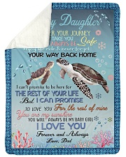"I PRAY YOU'LL ALWAYS BE SAFE Large Sherpa Fleece Blanket - 60"" x 80"" thumbnail"