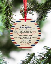 THE REST OF YOUR LIFE - BEST GIFT FOR DAUGHTER Circle ornament - single (porcelain) aos-circle-ornament-single-porcelain-lifestyles-07