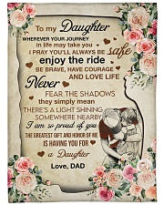 """I AM SO PROUD OF YOU - GREAT GIFT FOR DAUGHTER Large Fleece Blanket - 60"""" x 80"""" front"""