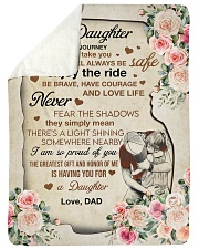"""I AM SO PROUD OF YOU - GREAT GIFT FOR DAUGHTER Large Sherpa Fleece Blanket - 60"""" x 80"""" thumbnail"""