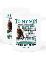 I LOVE YOU - AMAZING GIFT FOR SON Mug ceramic-mug-lifestyle-01