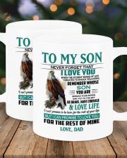 I LOVE YOU - AMAZING GIFT FOR SON Mug ceramic-mug-lifestyle-18