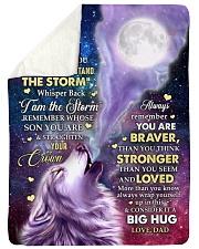 CONSIDER IT A BIG HUG - GREAT GIFT FOR SON Sherpa Fleece Blanket tile
