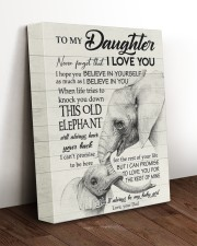 THIS OLD ELEPHANT - TO DAUGHTER FROM DAD 11x14 Gallery Wrapped Canvas Prints aos-canvas-pgw-11x14-lifestyle-front-17