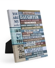 LIFE GAVE ME THE GIFT OF YOU 8x10 Easel-Back Gallery Wrapped Canvas thumbnail