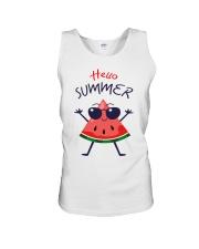 Hello Summer Watermelon Funny T-shirt Unisex Tank thumbnail
