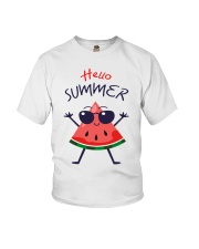 Hello Summer Watermelon Funny T-shirt Youth T-Shirt thumbnail