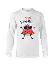 Hello Summer Watermelon Funny T-shirt Long Sleeve Tee thumbnail