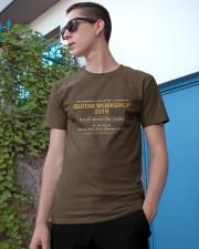GUITAR WORKSHOP 2019 Classic T-Shirt apparel-classic-tshirt-lifestyle-17