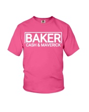 cash and maverick baker Youth T-Shirt thumbnail
