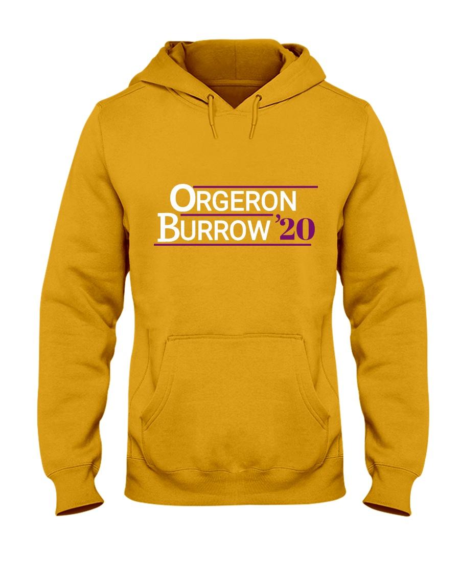 Orgeron Burrow 2020  Hooded Sweatshirt