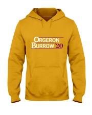 Orgeron Burrow 2020  Hooded Sweatshirt front