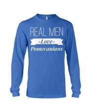Real men love Pomeranians Long Sleeve Tee thumbnail
