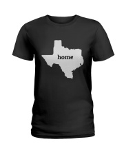 Home Texas  Ladies T-Shirt thumbnail