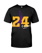 RIP KOBE 24 FOREVER Classic T-Shirt front