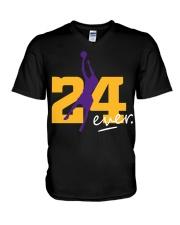 RIP KOBE 24 FOREVER V-Neck T-Shirt thumbnail