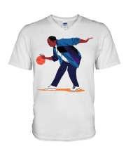 Stanley From The Office V-Neck T-Shirt thumbnail