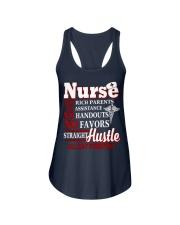 nurse shirt Ladies Flowy Tank thumbnail