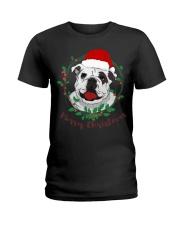 bulldog shirt Ladies T-Shirt thumbnail