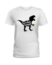 teacher shirts Ladies T-Shirt tile