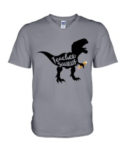 teacher shirts V-Neck T-Shirt thumbnail